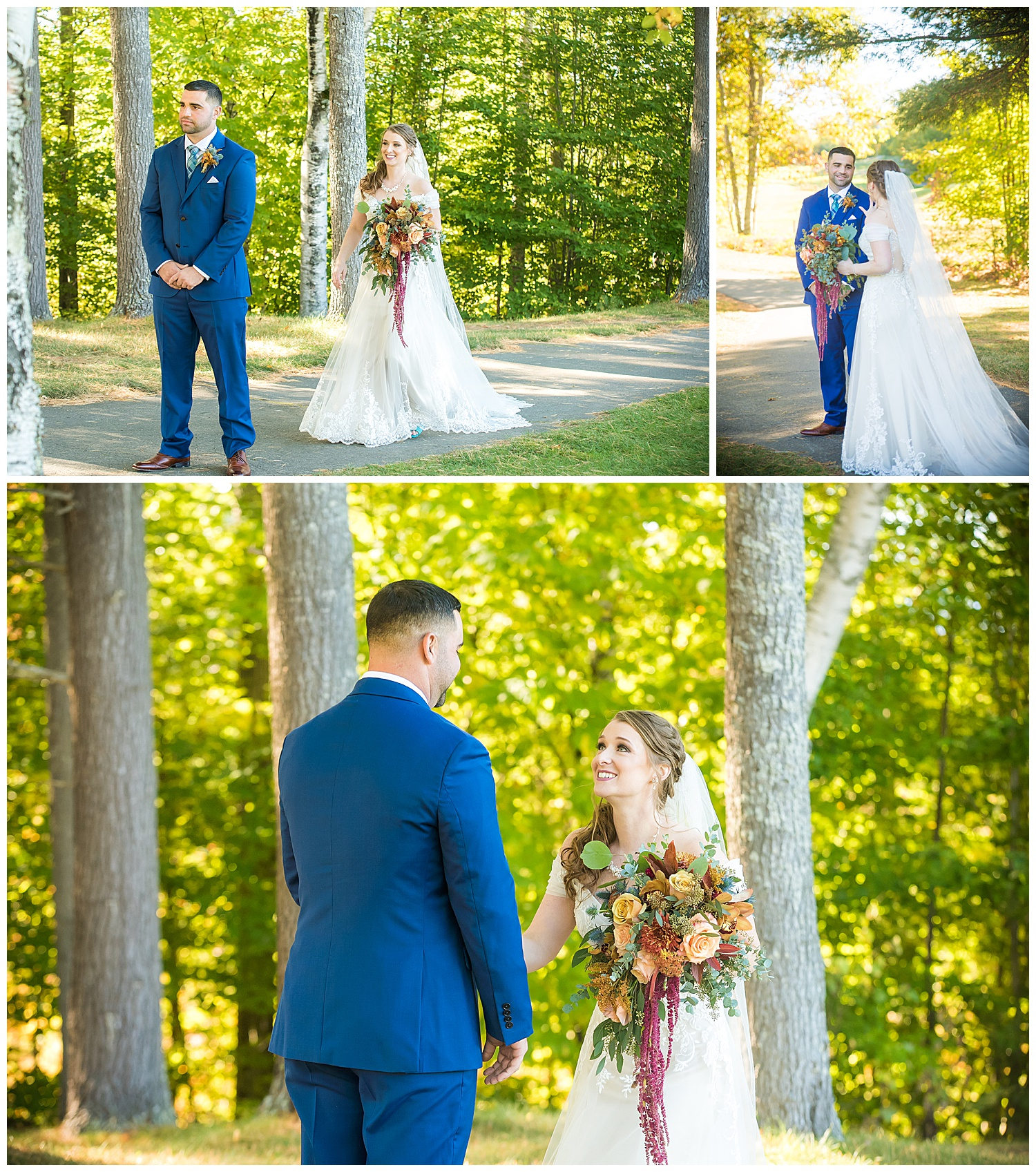 2Owl's Nest White Mountain Wedding - First Look
