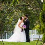 Lake Pearl Wedding Bride and Groom Portrait