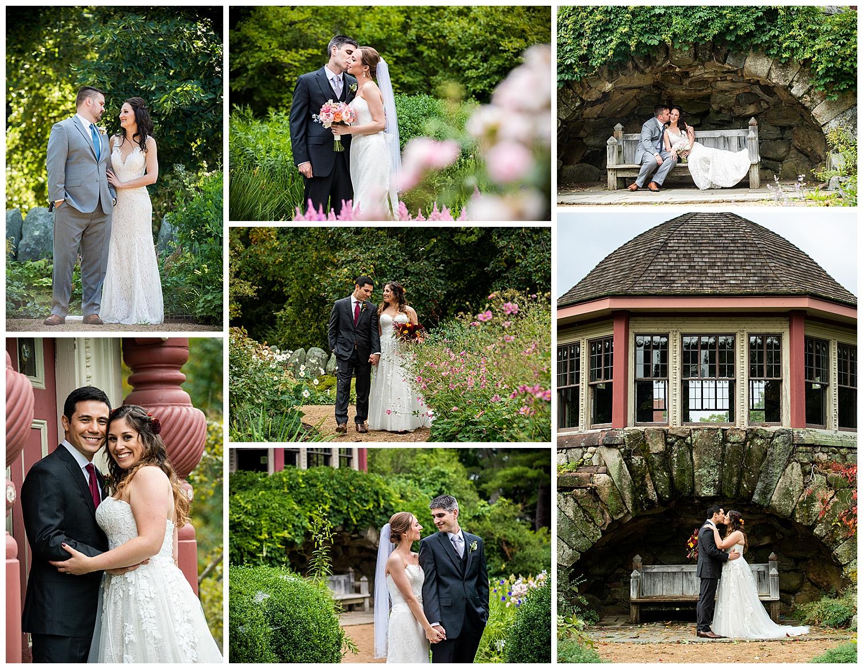 Moraine Farms Tea Garden Bride & Groom Portraits