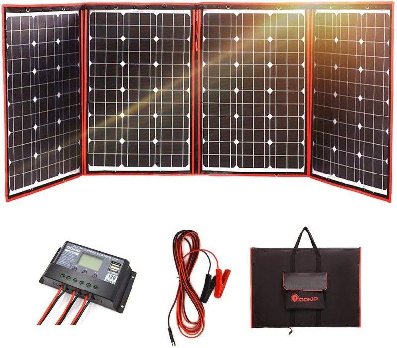 Best Foldable DIY Solar Generator Kit