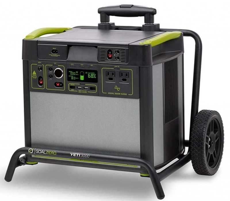 Yeti 3000 (WiFi) Lithium Portable Solar Generator Review