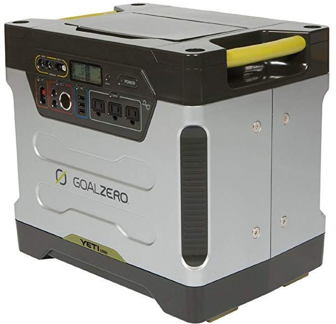 Goal Zero Yeti 1250 Solar Power Station Review