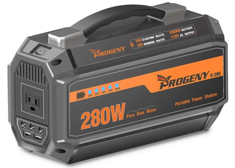 Progeny 280W Portable Solar Power Station Review