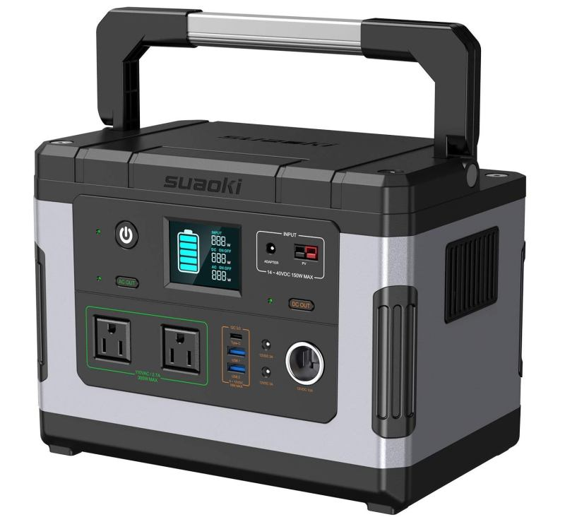 Suaoki G500 500Wh Portable Solar Generator Review