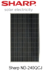Sharp ND-240QCJ Solar Module