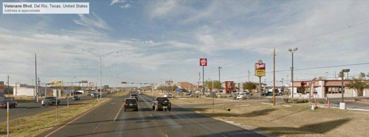 Del Rio and Highway 90