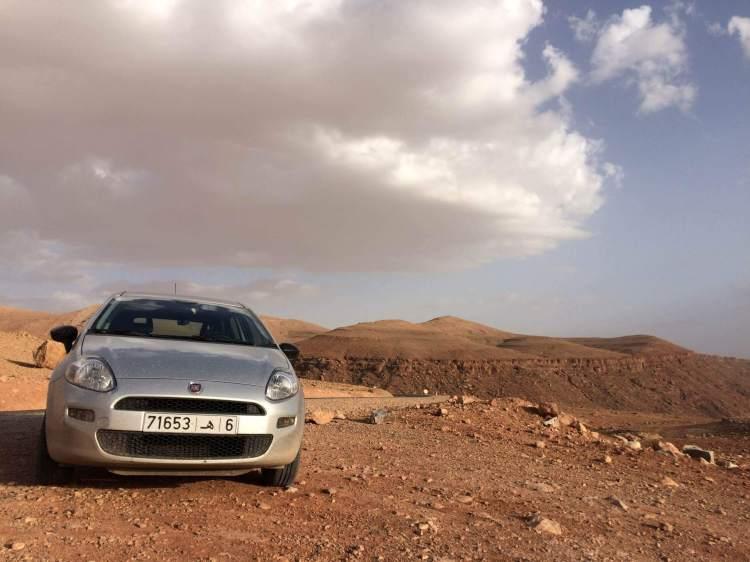 My Rental Car in Morocco
