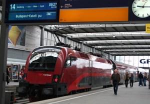 Budapest Train Ticket