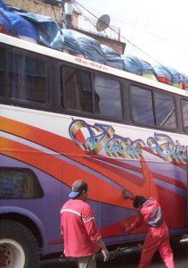 The Bus in La Paz