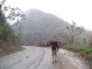 The Death Road in Bolivia