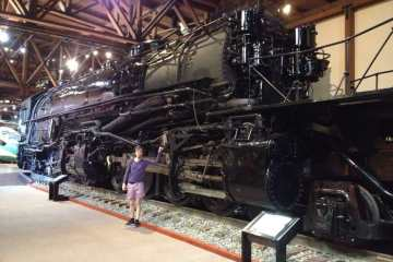 Inside The Sacramento Railroad Museum