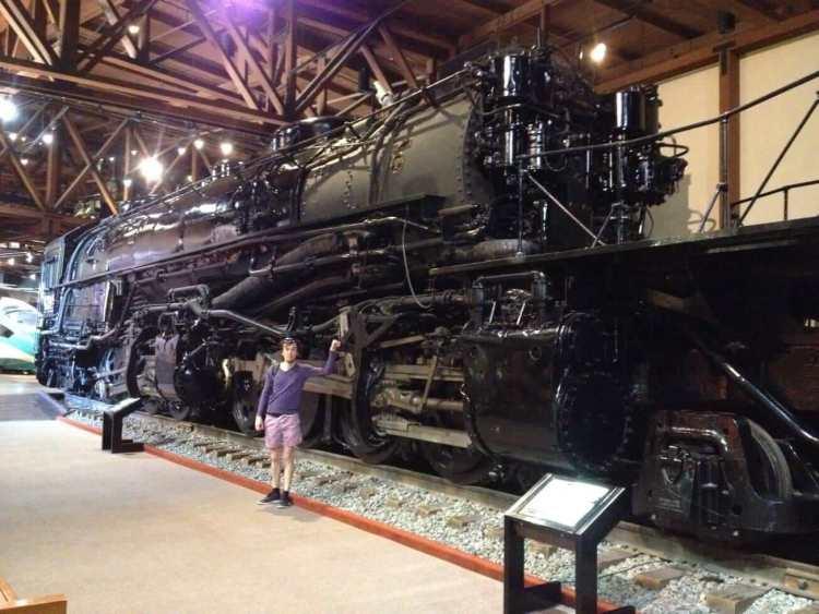 Inside The Sacramento Railroad Museum