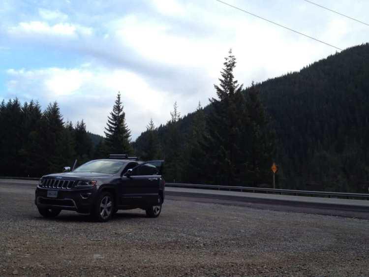 The Jeep Grand Cherokee