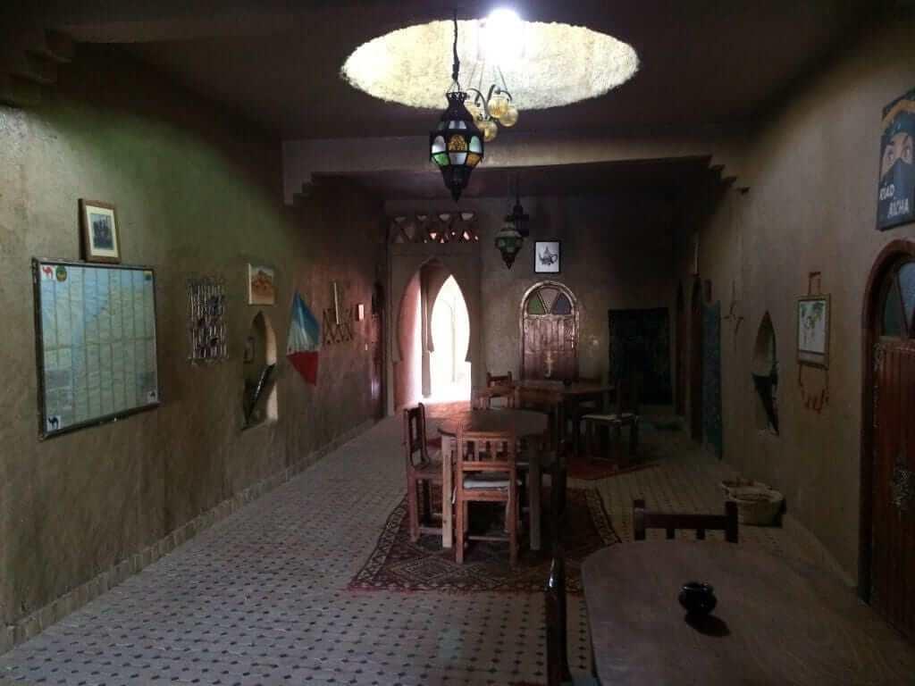 Inside Riad Aicha, Hassi Labied