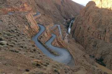 The Dades Gorges