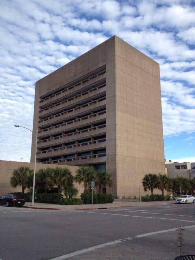 An old office block in Galveston, TX