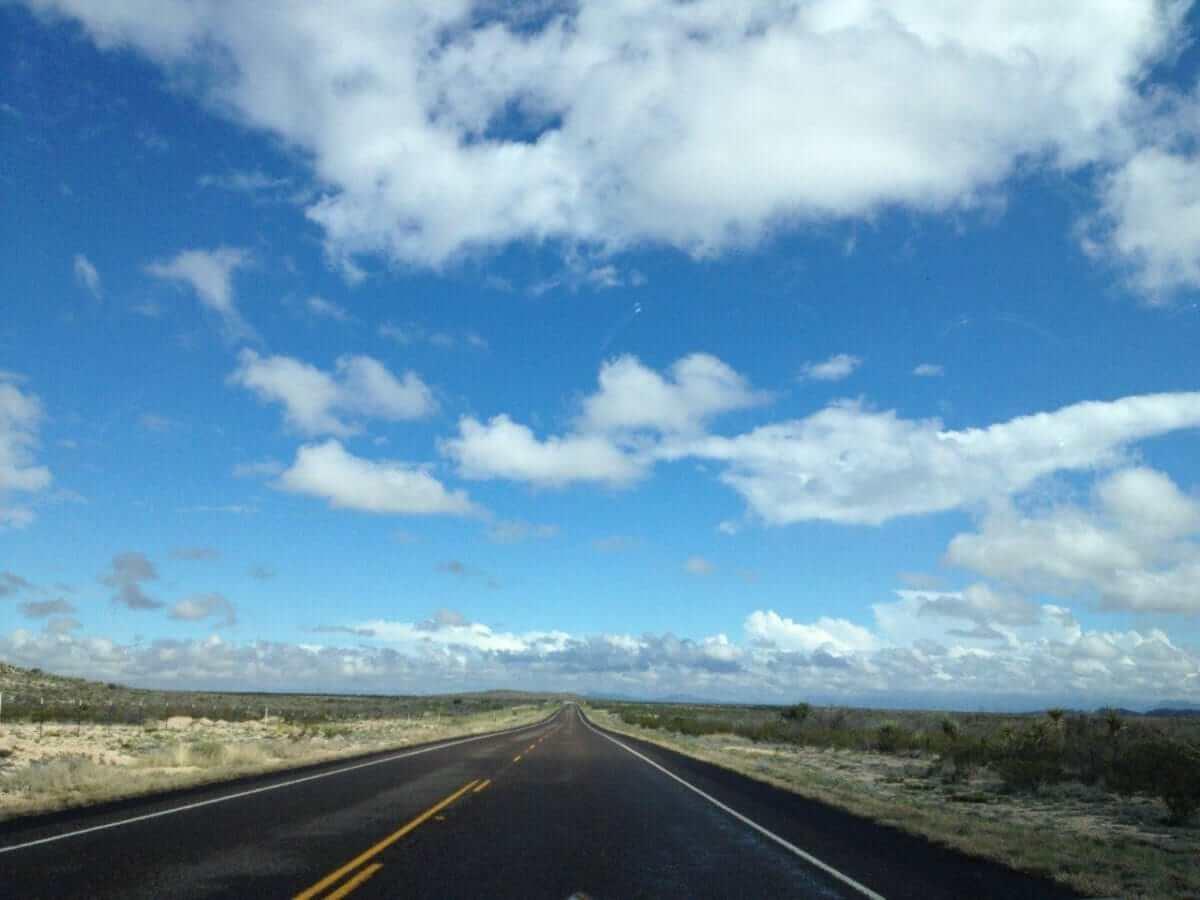 Entering Big Bend National Park
