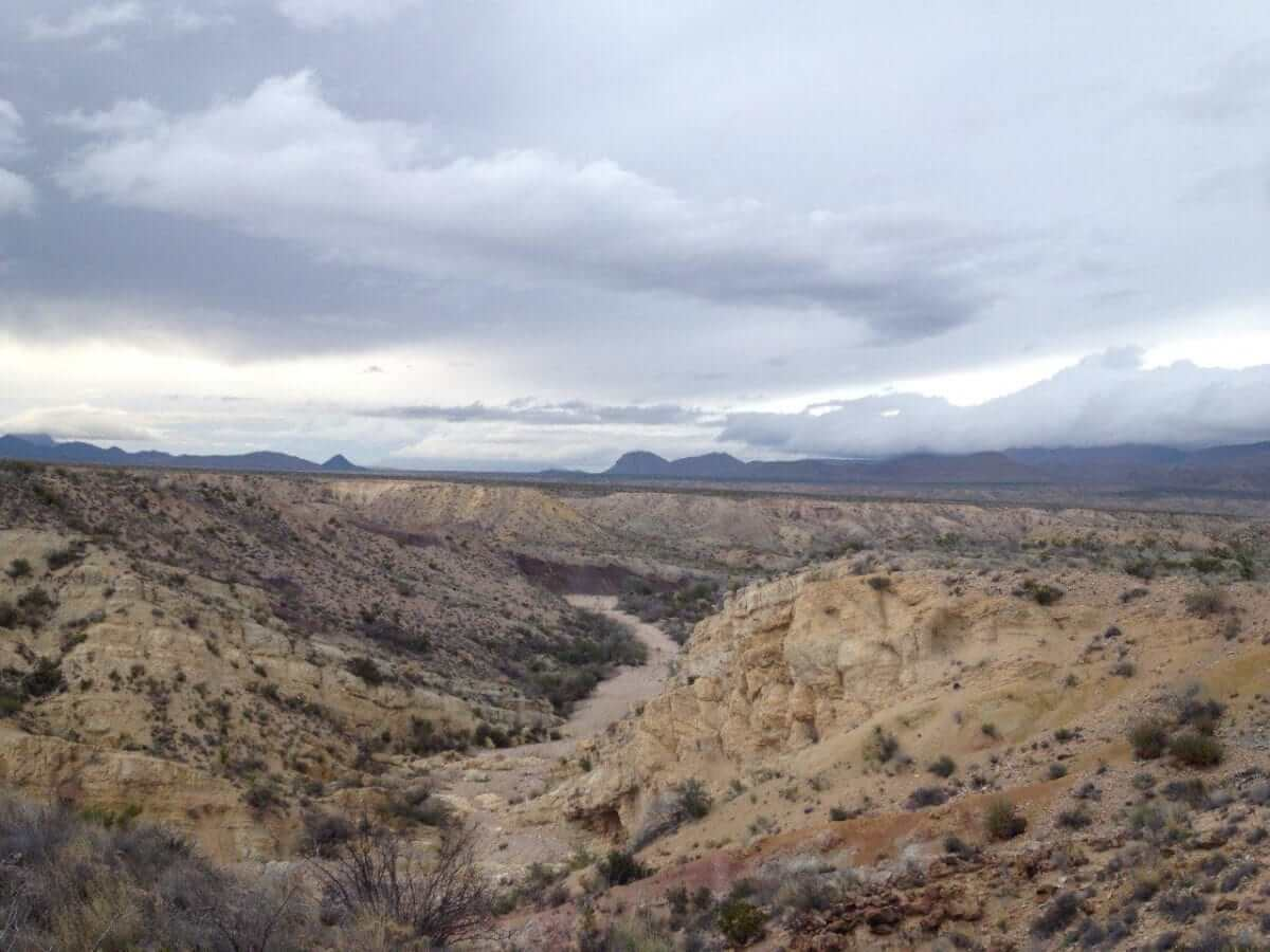 The View from Grapevine Hills