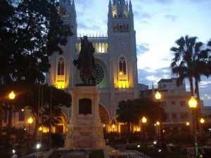 Parque de los Igauanos in Guayaquil