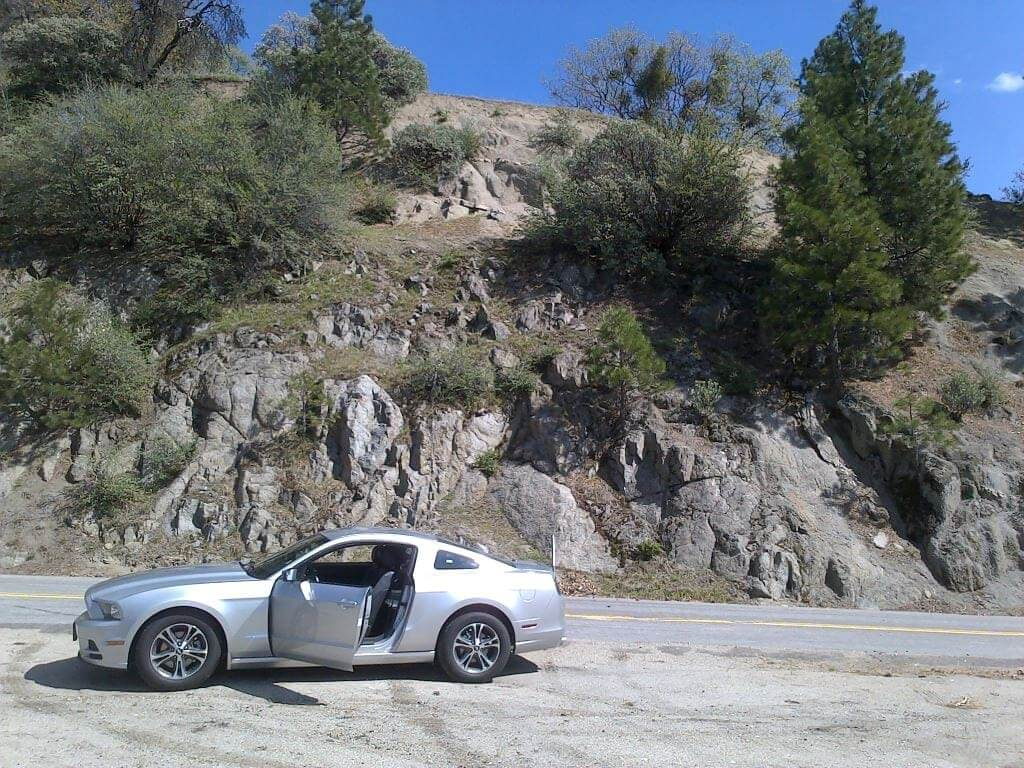 Driving Sequoia National Forest