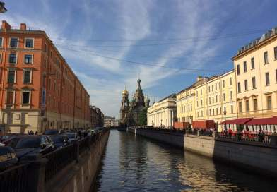 St Petersburg Walk to The Church of the Savior on Spilled Blood