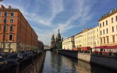 St Petersburg Canal Walk