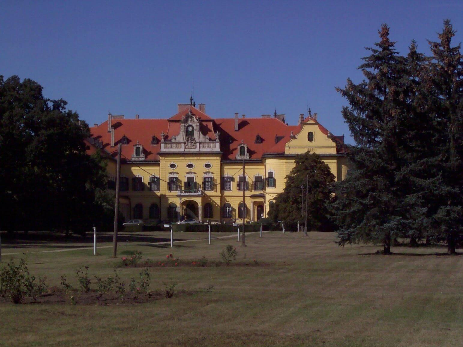 Palace Grounds at Nagymágocs