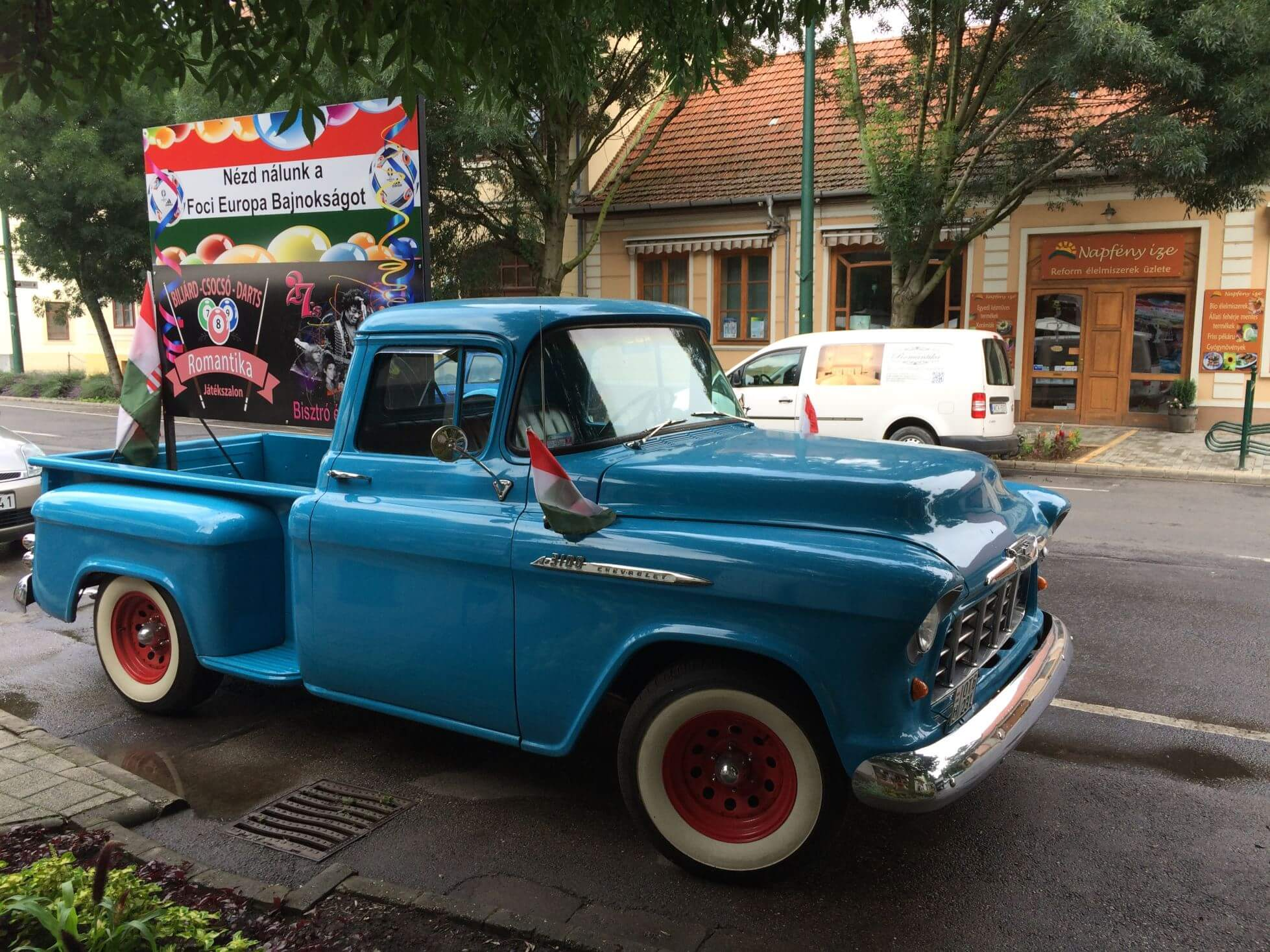 Old Timer Truck in Gyula, Hungary