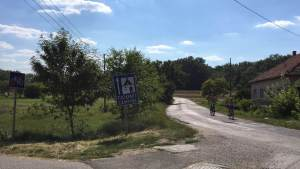 Cycling to Mártély Lake