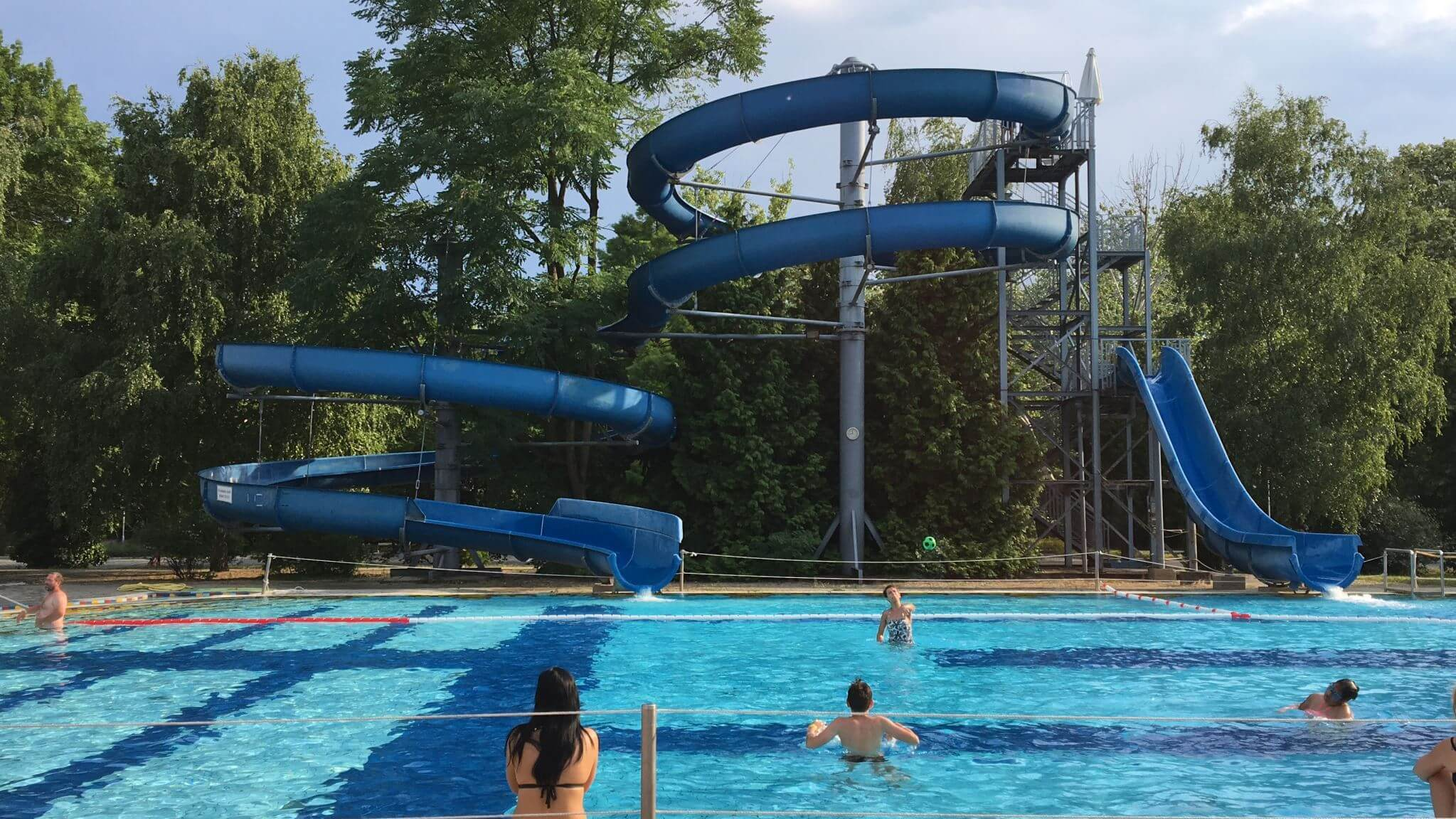 Big Slide in Gyula, Hungary