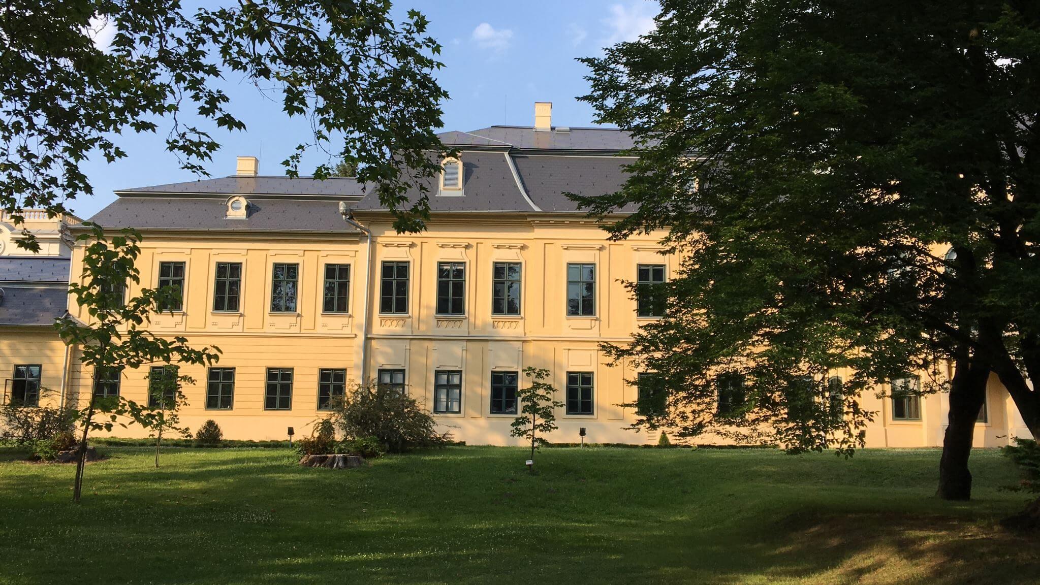Almassy Palace in Gyula, Hungary