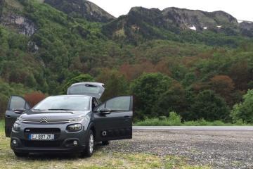 The Europcar Citroen C3