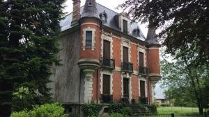 An abandoned Aulus les Bains hotel
