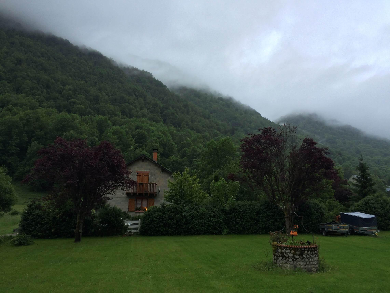The countryside near Aulus les Bains