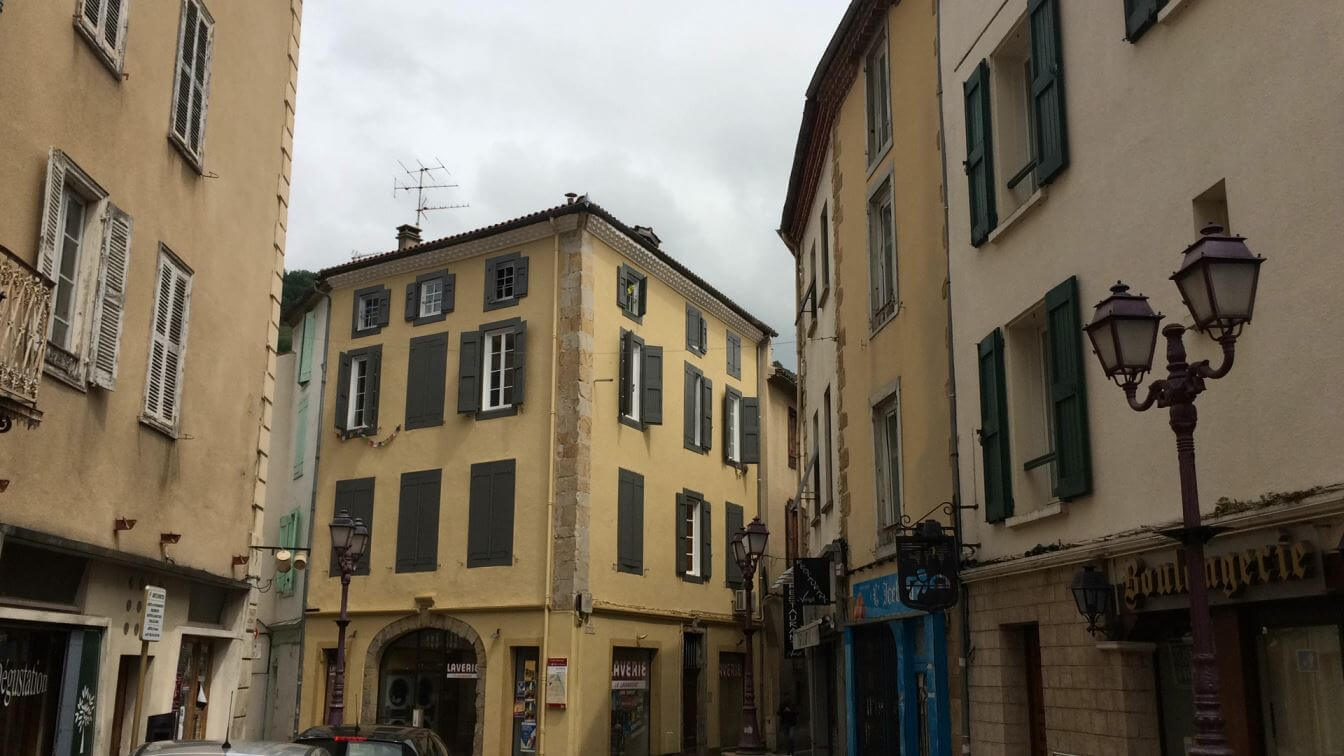 Old Town in Foix