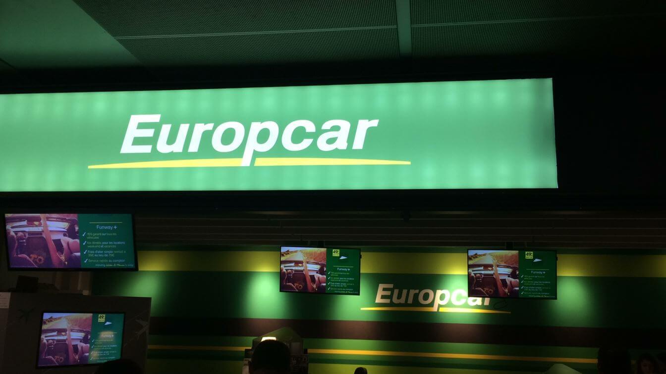 Europcar Rental Toulouse