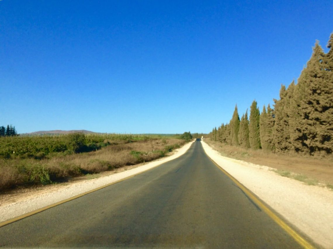 The Road to the Golan Heights