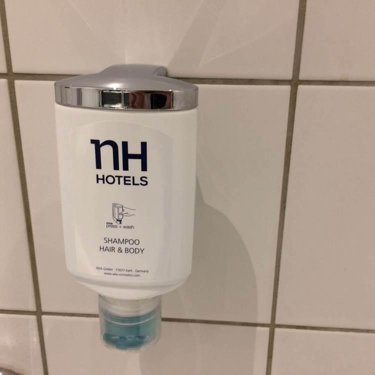 The shower gel