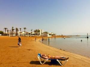 The Beach at Ein Bokek