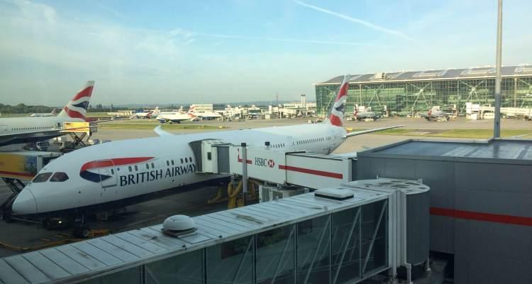 BA Flight London Tel Aviv
