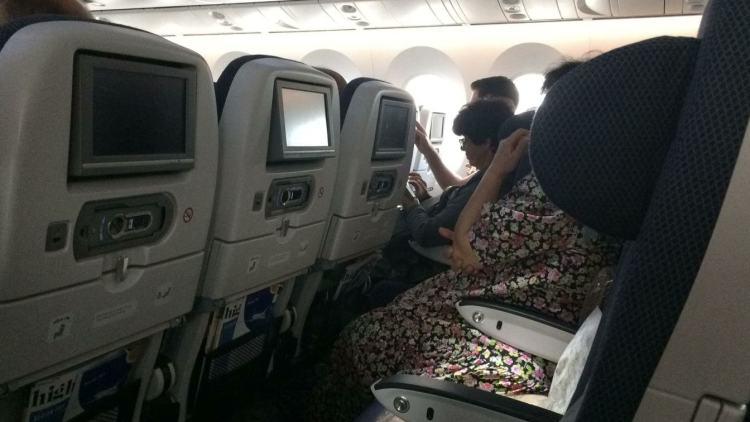 BA London-Tel Aviv Plane Inside