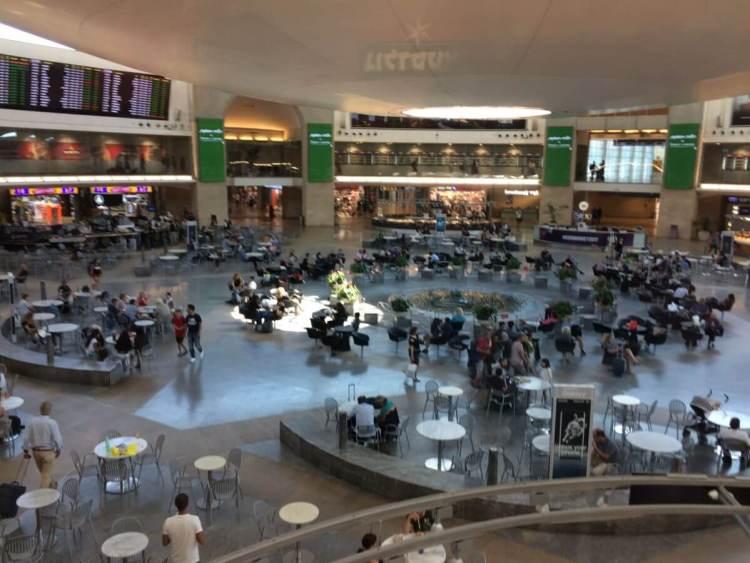 Tel Aviv Airport Arrivals Hall