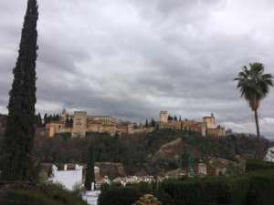 The Alhambra in the Distance