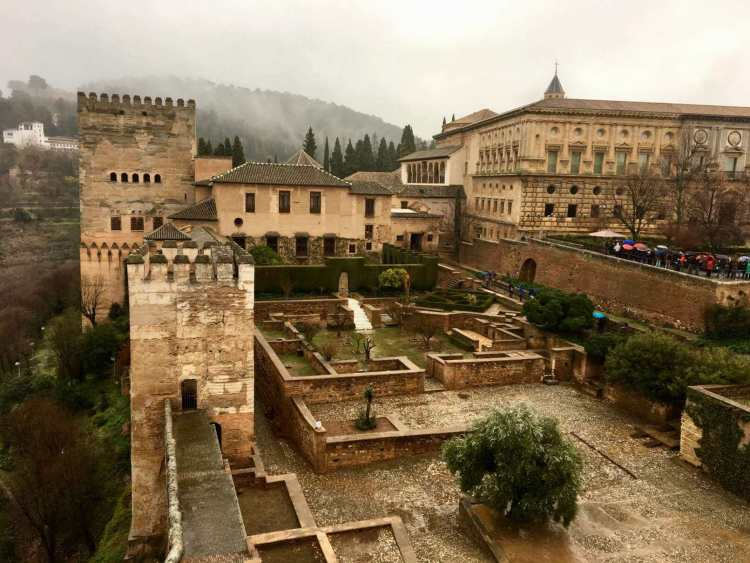 The Alcazaba in Granada