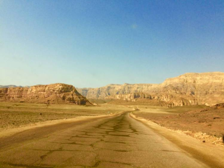 Driving in Timna Park