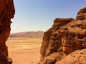 The View From Hathor's Temple