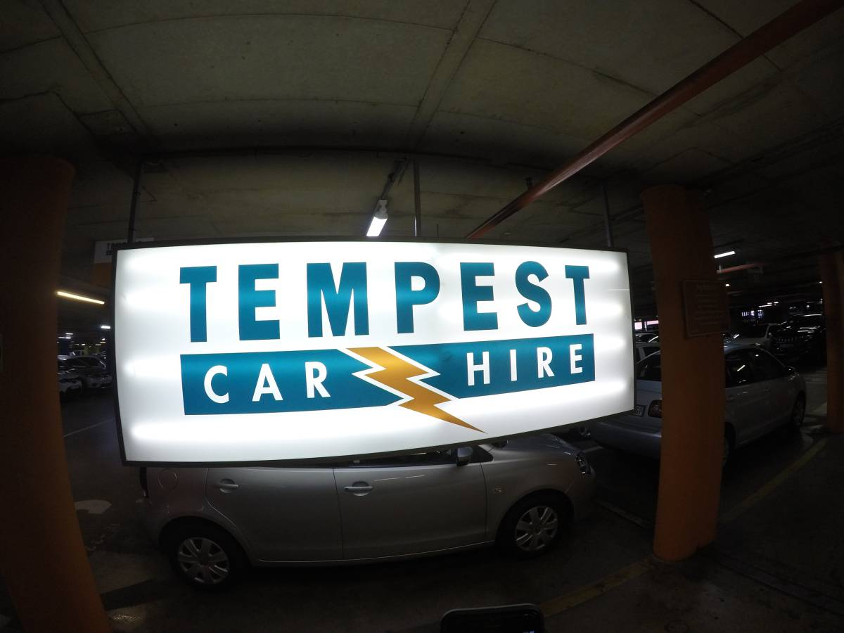 Tempest Car Hire Renting At Johannesburg Airport