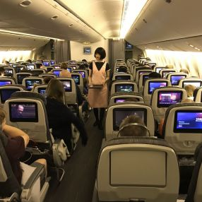1332121d37c3 Eva Air BR68 London To Bangkok Flight Review