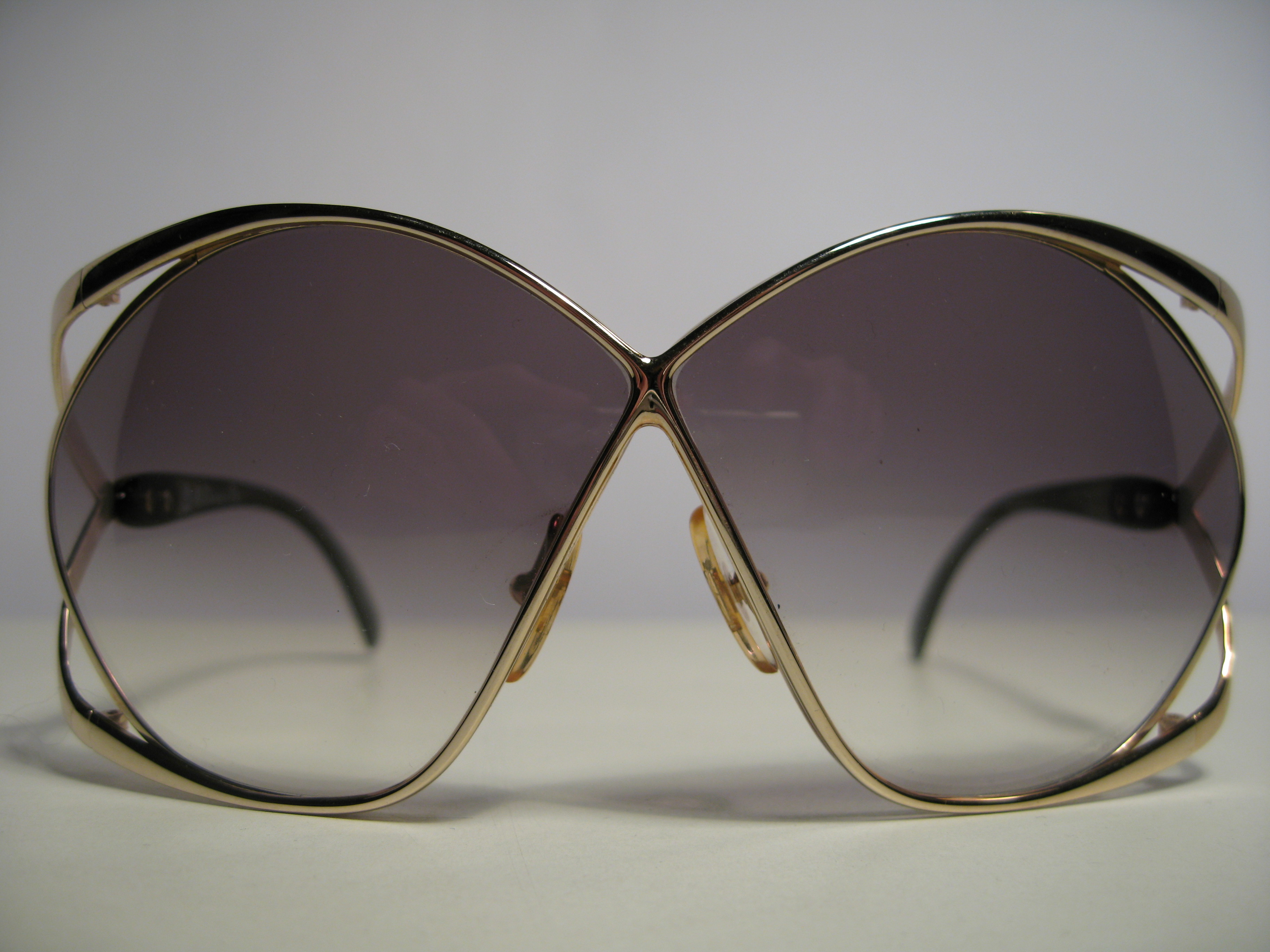 Christian Dior 2056 1980s vintage sunglasses butterfly rare