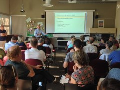 participants at Solarize Mercer Island workshop